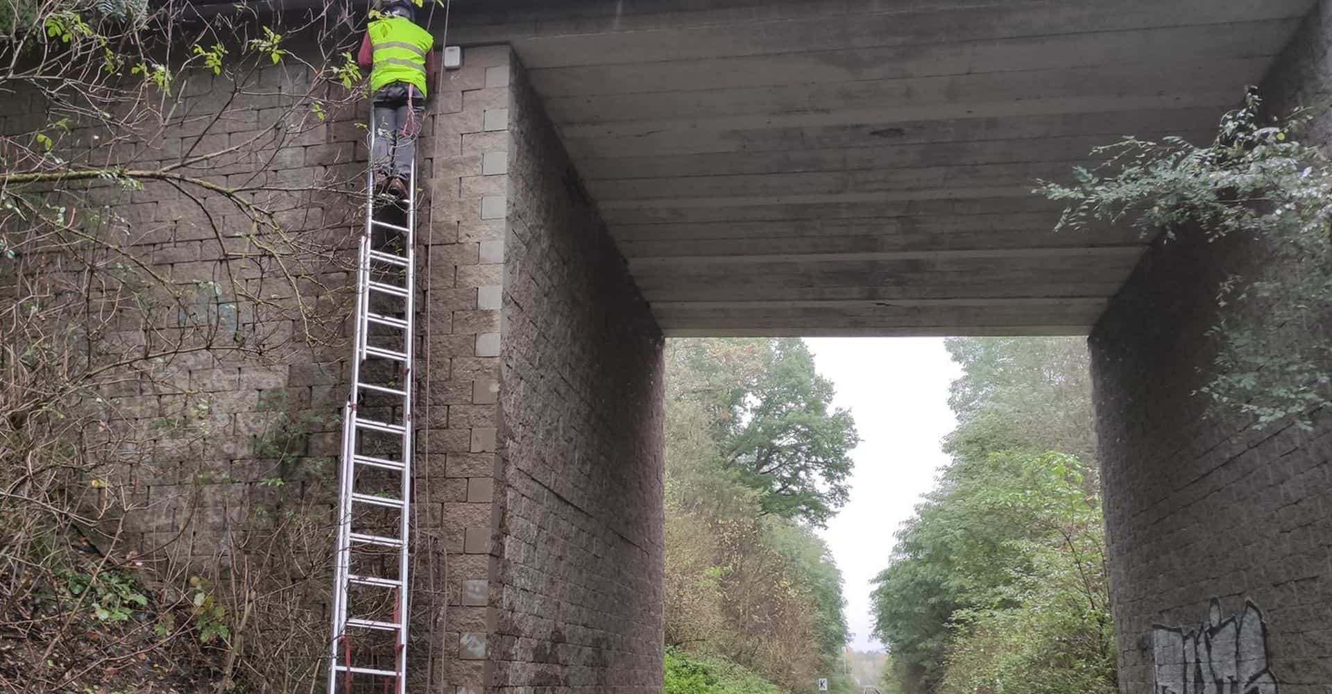 Monitoring of a bridge in the village of Brniste for the Regional Road Administration